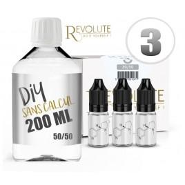 Kit sans calcul - 200 ml - 3mg