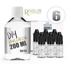 Kit sans calcul - 200 ml - 6mg