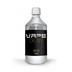 Vape or DIY - base 1L - 50/50