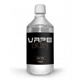 Vape or DIY - base 1L - 30/70
