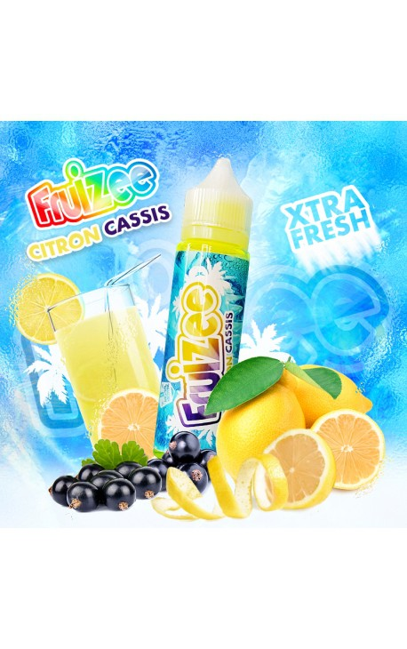 Fruizee - Citron Cassis - 50 ml