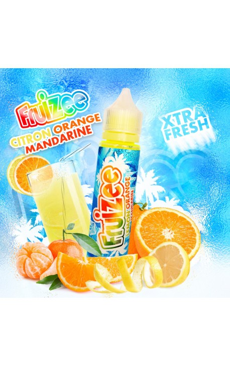 Fruizee - Citron Orange Mandarine - 50 ml