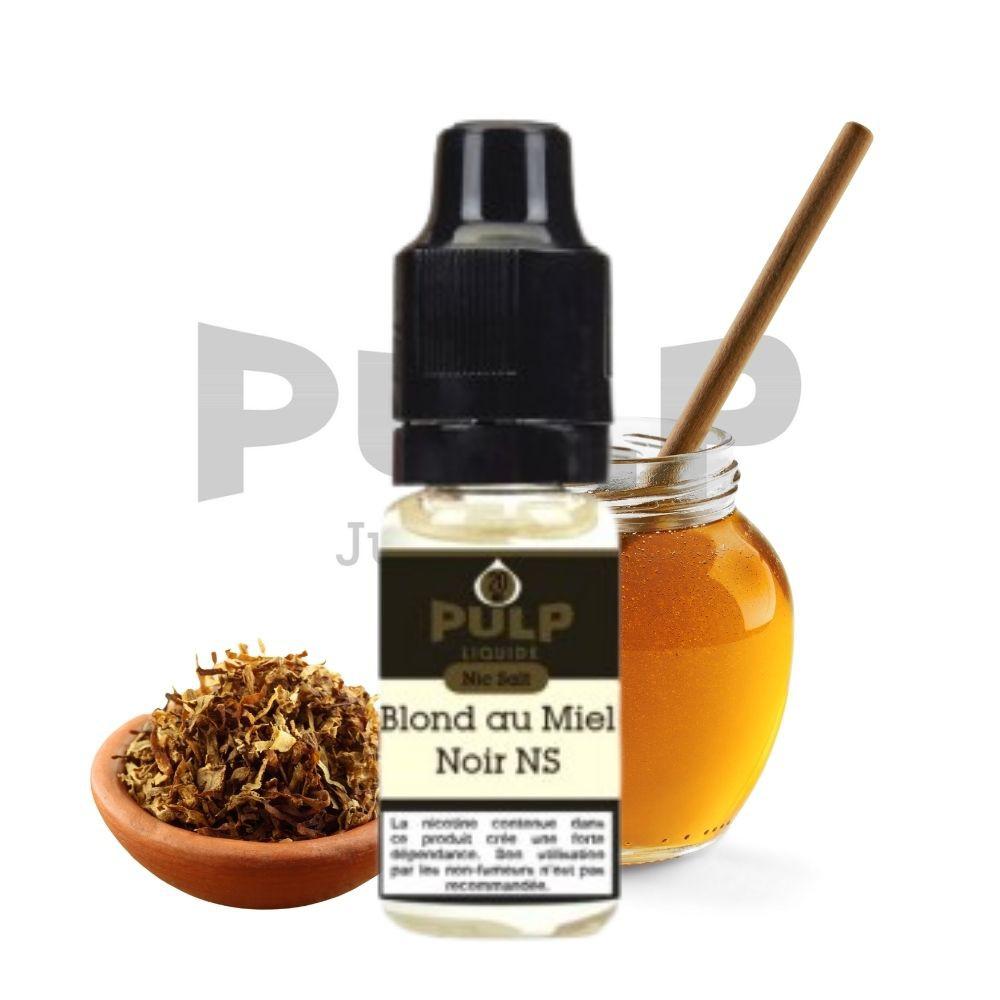 Sels de Nicotine - Blond Au Miel Noir - 10ml