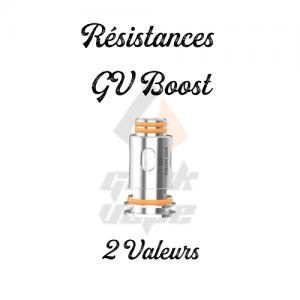 Résistances GV Boost