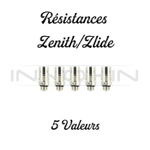 Résistances Zlide/Zenith