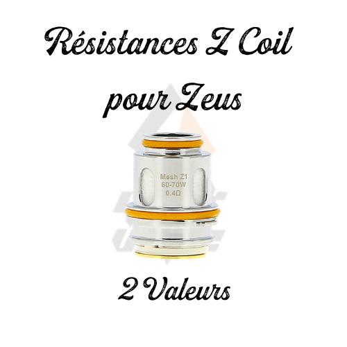 Résistances Z Coil Mesh Zeus