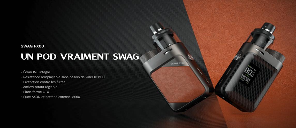 Bannière Swag PX80